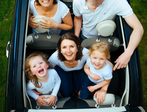 Public Service Announcement: Don't Leave Kids in Car Even for a Minute