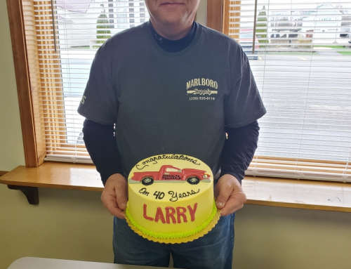 Congratulations and Thank You Larry Klodt!