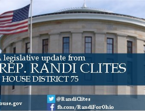 News from Representative Clites