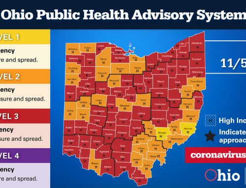 Public Health Advisory: Portage County RED Status